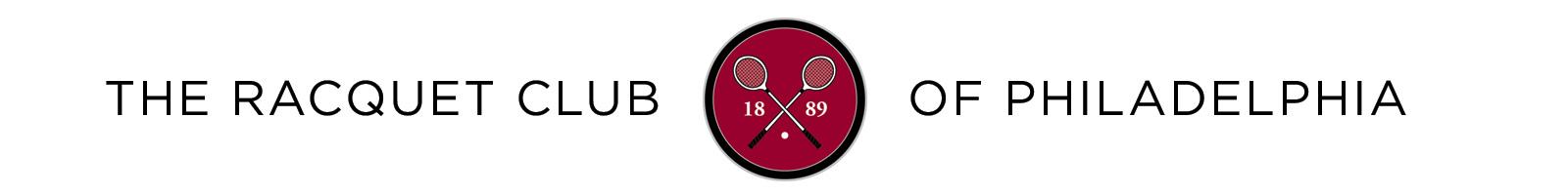 The Racquet Club of Philadelphia Logo